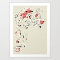 Non Wind-Up Robin Art Print