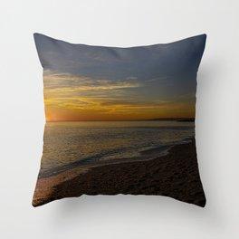 Sunset at West Bay 3 Throw Pillow