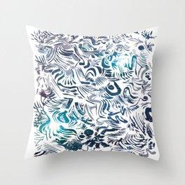 Brunkos first art Throw Pillow