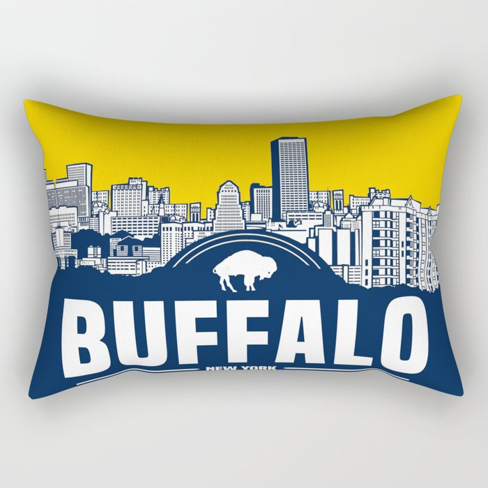 BUFFALO SKYLINE Rectangular Pillow