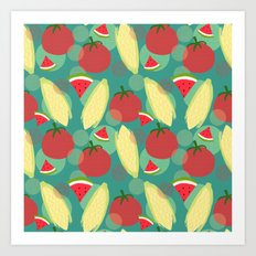 Sweet Taste of Summer Art Print