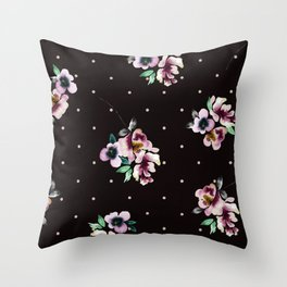 Floating Clusters Throw Pillow