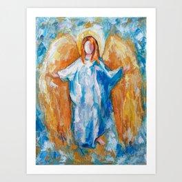 Angel Of Harmony 18x24 Art Print