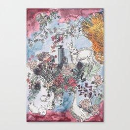 Pink Saturdays Canvas Print