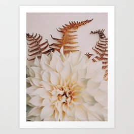 Autumn Mood #2 - Modern Botanical Photograph Art Print