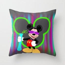 Mickey EDC Throw Pillow