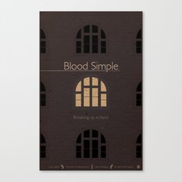 Film Friday No. 1, Blood Simple Canvas Print