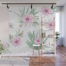 Simply Cactus Desert Rose Wall Mural