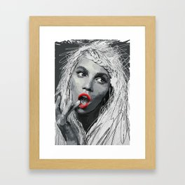 Yammy Framed Art Print