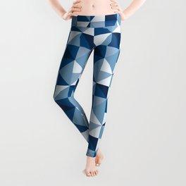 Modern Shades of Blue Leggings
