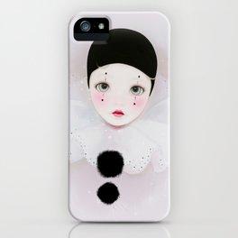 pierrot iPhone Case