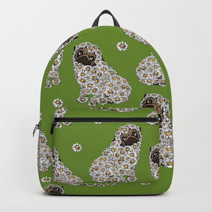 Pug Daisy Backpack