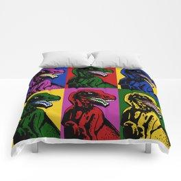 Dinosaur Pop Art Comforters