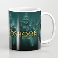 bioshock Mugs featuring Bioshock by Pixel Design