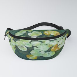 Tranquil lily pond Fanny Pack