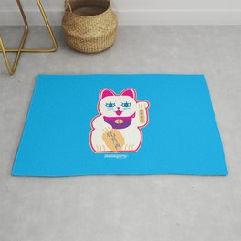 Chinese cat of prosperity Rug