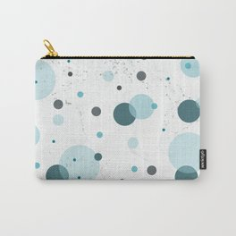 Blue Bubble Collection Carry-All Pouch
