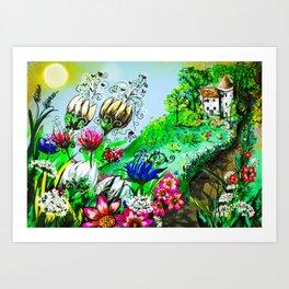 Enchanted Return Art Print