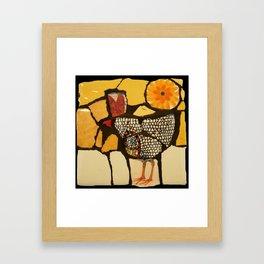 Rosemary's Hen Framed Art Print