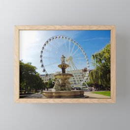 Budapest Eye on Erzsebet Square Framed Mini Art Print