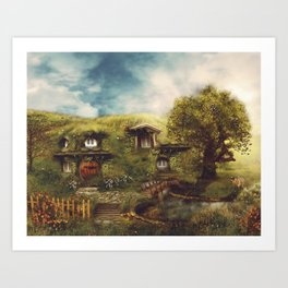 Under the Hill Art Print