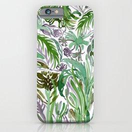 Watercolour elvish forest iPhone Case