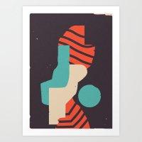 Piuloj Art Print