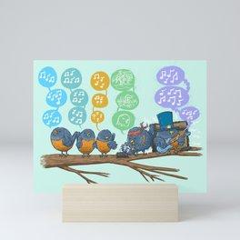 Spring Birds Mini Art Print