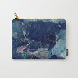 Blue Marble Texture Carry-All Pouch