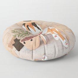 Sunday Morning Floor Pillow