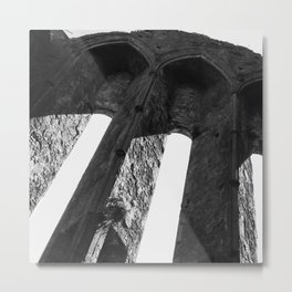 Rock of Cashel arch Ireland Metal Print
