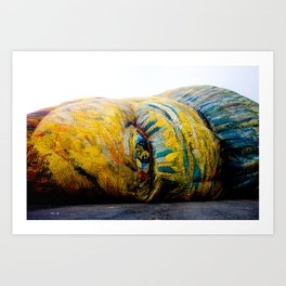 Awakening Van Gogh Art Print
