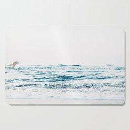 Water, Sea, Ocean, Water, Blue, Nature, Modern art, Art, Minimal, Wall art Cutting Board
