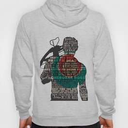 Daryl Dixon with Quotes Hoody