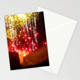The showplace aglow Stationery Cards
