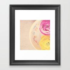 everyone needs a little cup of sunshine ...  Framed Art Print