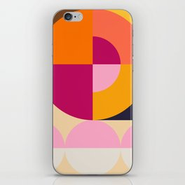 Spring- Pantone Warm color 04 iPhone Skin