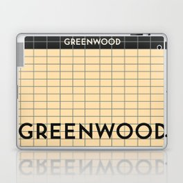 GREENWOOD | Subway Station Laptop & iPad Skin