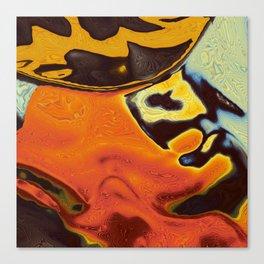 Toxic Frog Canvas Print