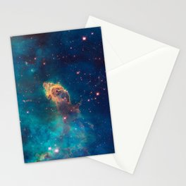 Space Nebula, A View of Astronomy, Stars, Galaxy, and Outer space  Stationery Cards