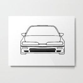 90-91 Metal Print