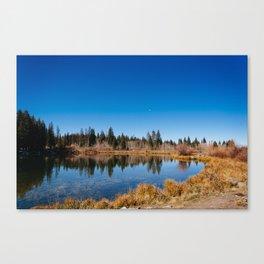 Lake Atop the Grand Mesa Canvas Print