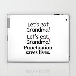 Let's Eat Grandma Punctuation Saves Lives Laptop & iPad Skin