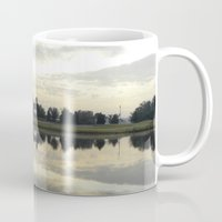 florida Mugs featuring Florida Sunrise by Stephanie Stonato