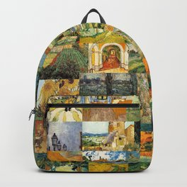Vincent van Gogh Montage Backpack