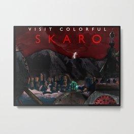 Visit Colorful Skaro Metal Print