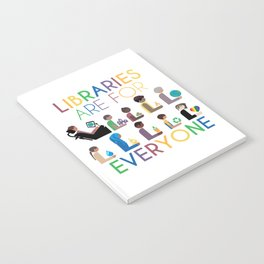 Rainbow Libraries Are For Everyone Notebook