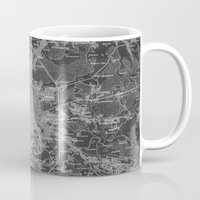 moscow Mugs featuring Moscow by Upperleft Studios