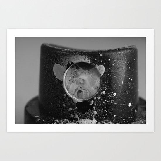 Spray Cap Space Art Print