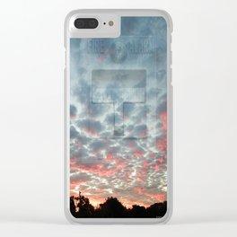 ALARM 02 Clear iPhone Case